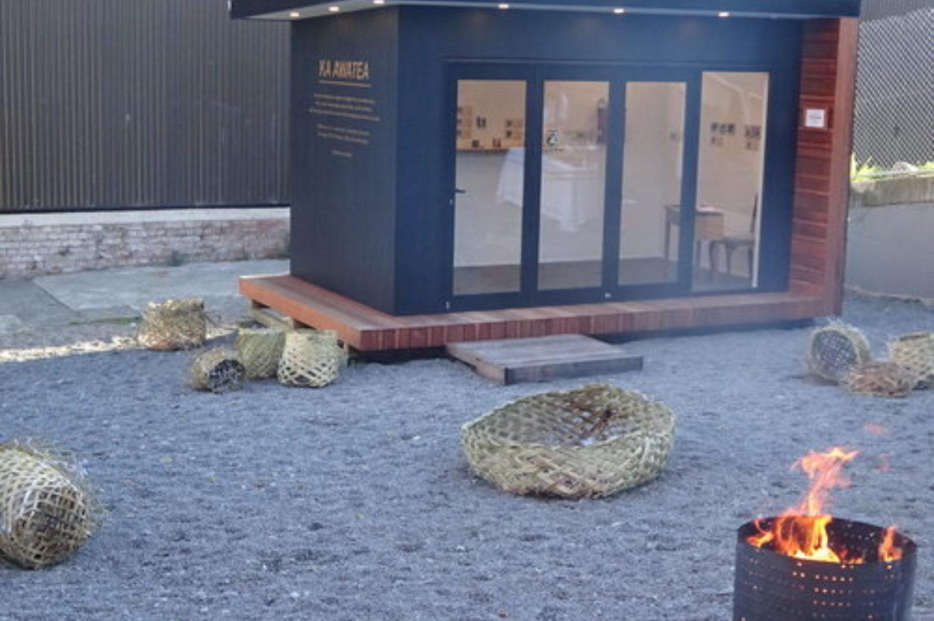 1 The Miniature Gallery with Waikawa kumara baskets by Paula Rigby and Leisa Aumua in foreground
