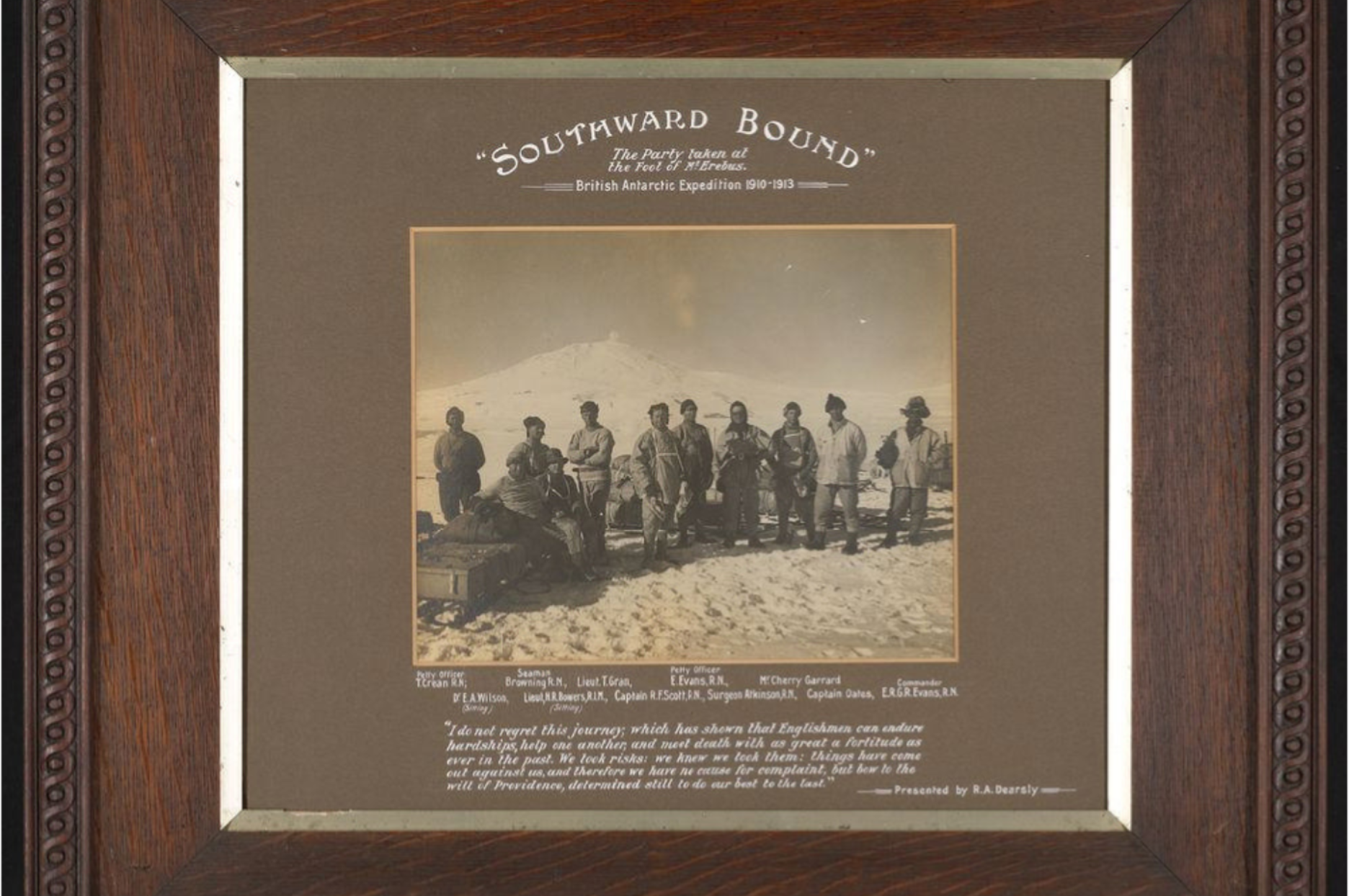 14474 1 The Party at the foot of Mt Erebus during the British Antarctic Expedition 1910-1913