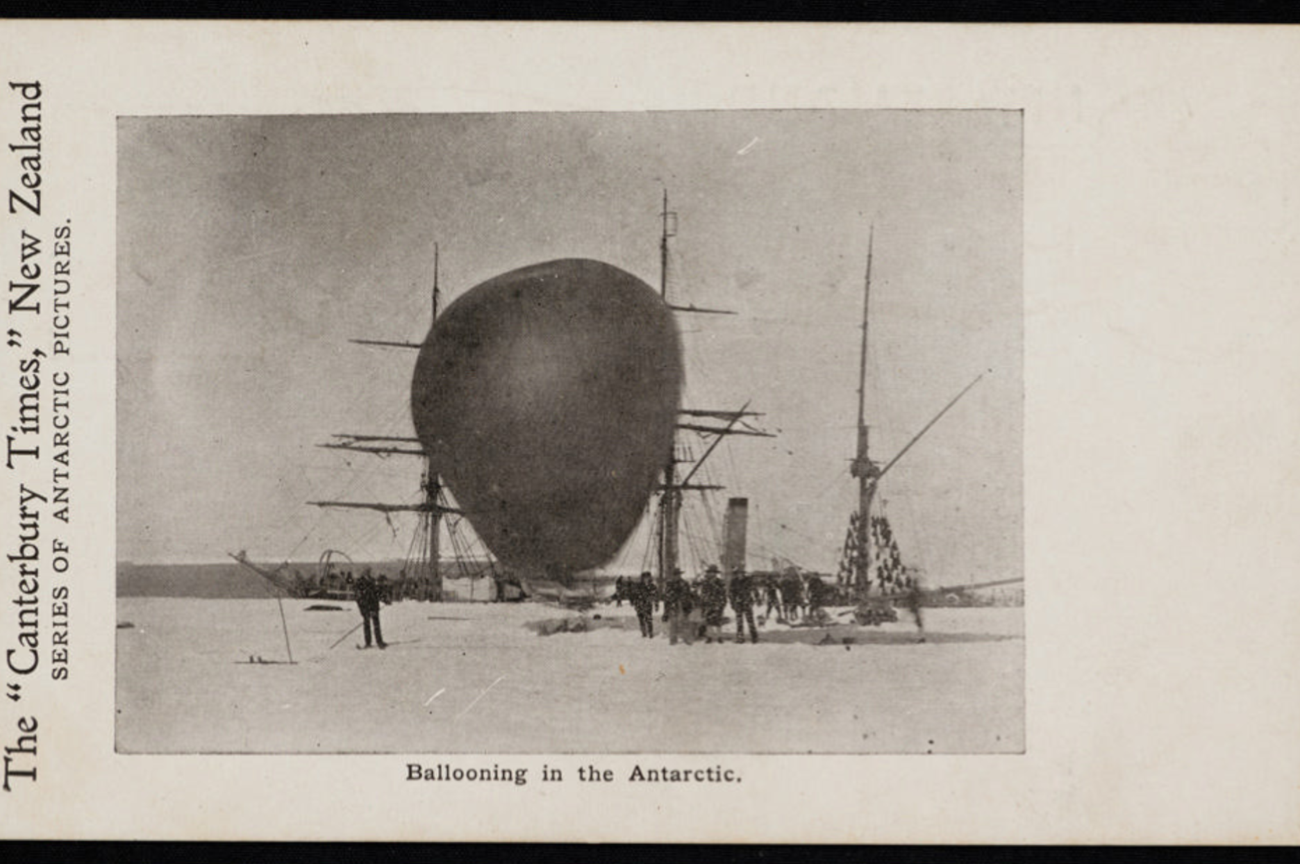9949 1 Ballooning in the Antarctic during the 'Discovery Expedition' of 1901-04