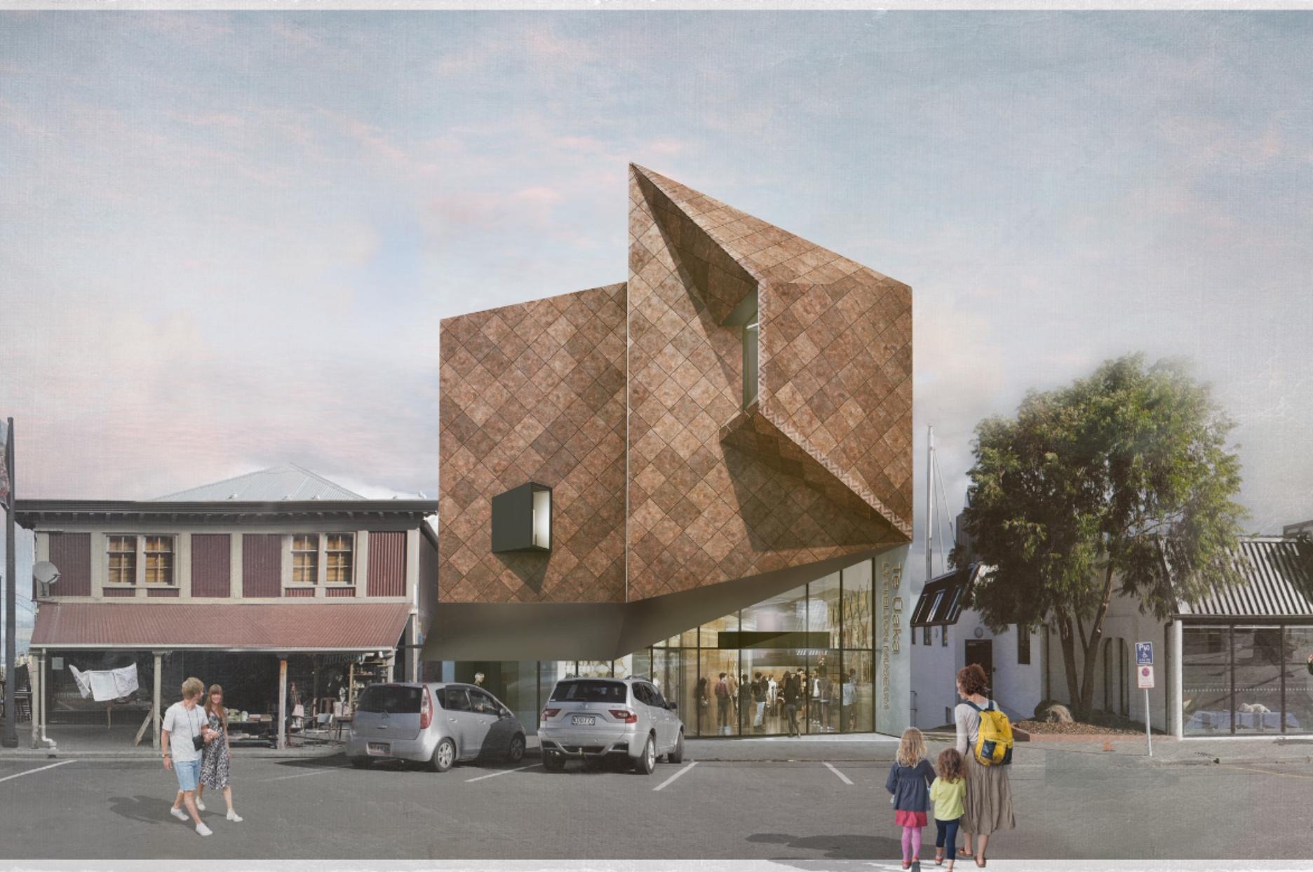 Building rendering by Warren & Mahoney