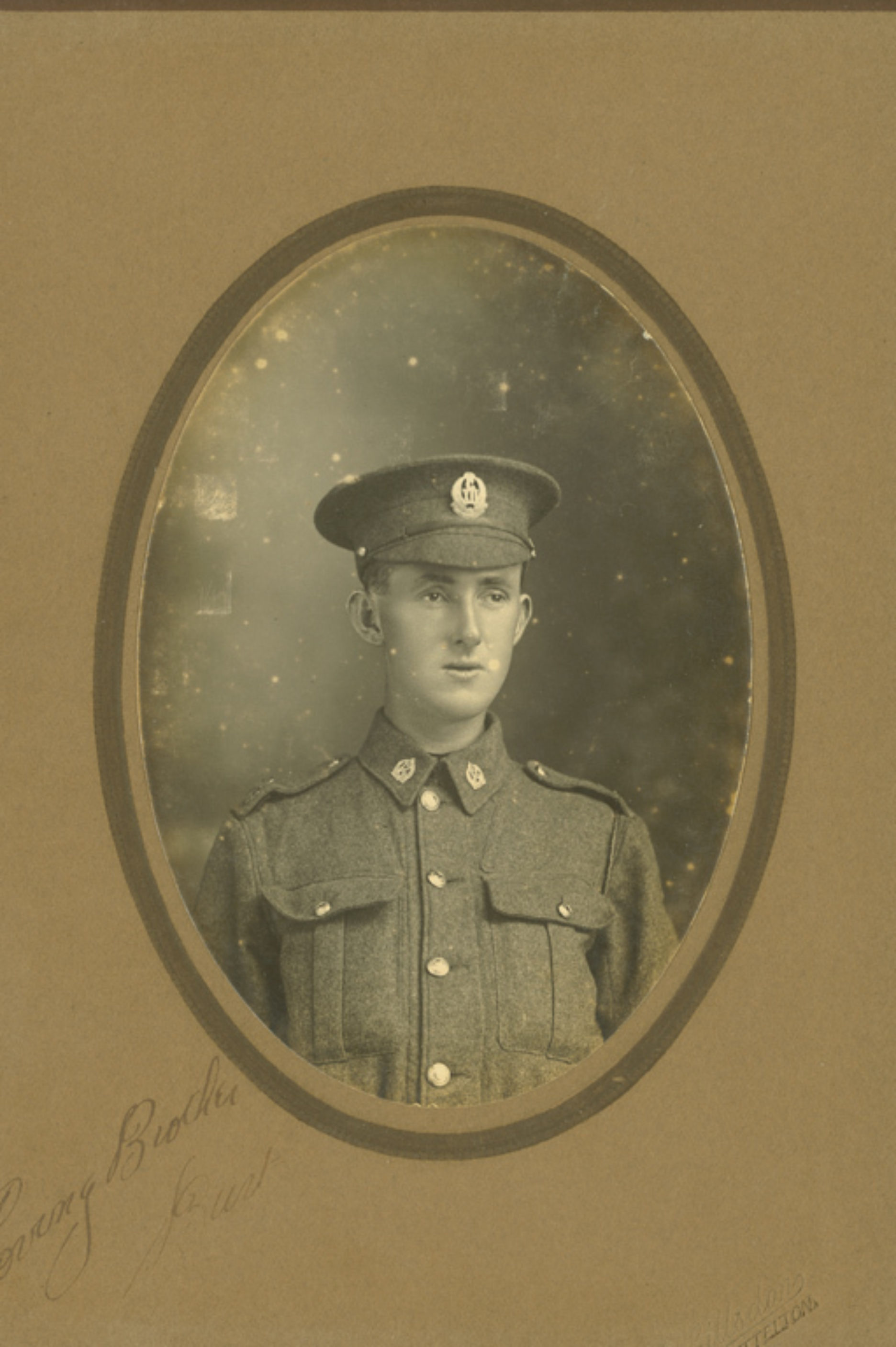 Bertie Huon Victor Harkess, 1916 - Lyttelton Museum