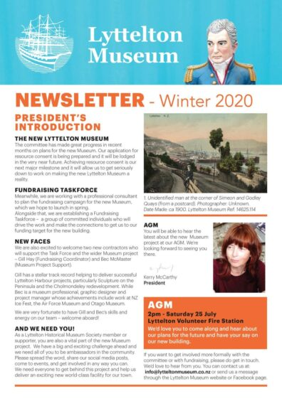 LM Newsletter Winter 2020