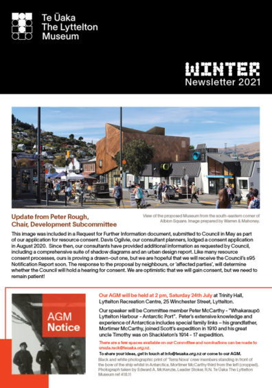 TUTLM Newsletter Winter 2021 Cover web