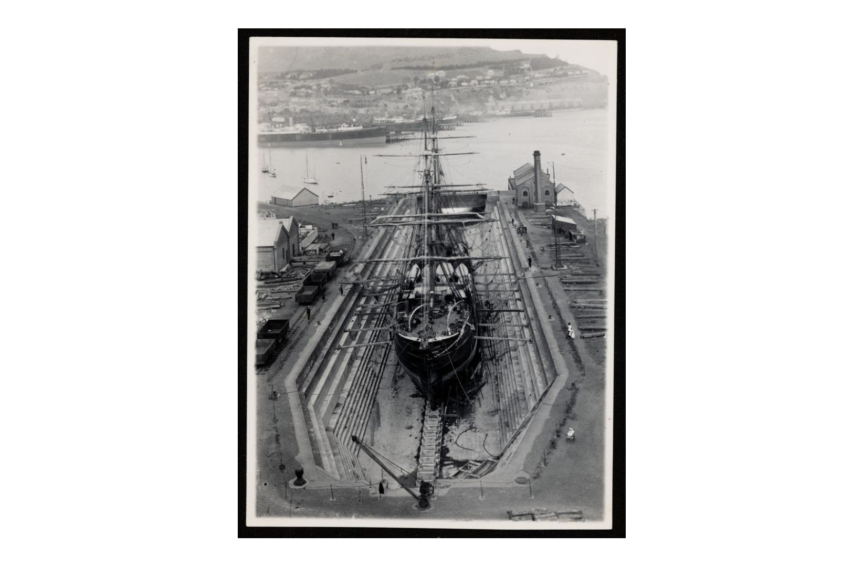 14856.1 Discovery in dry dock