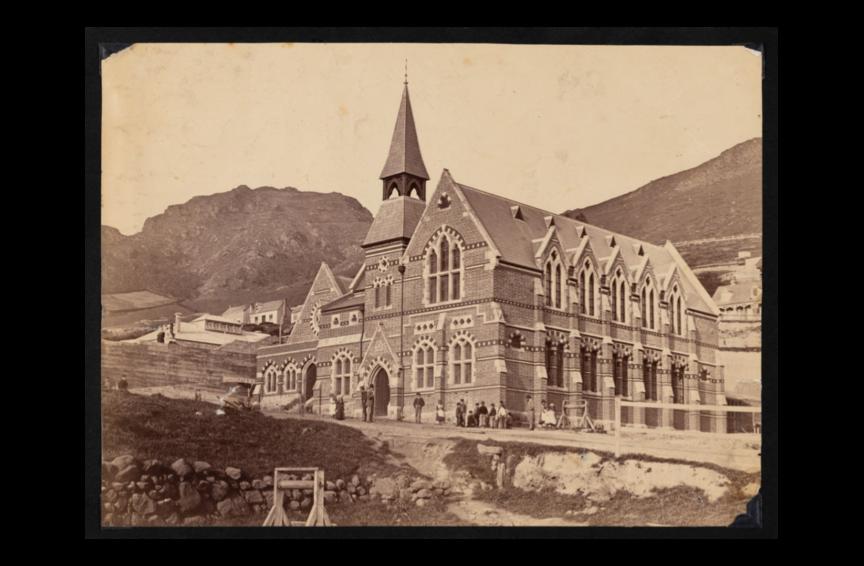The Lyttelton Borough School 1874